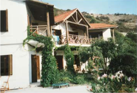 Open terrace and balconies facing the valley
