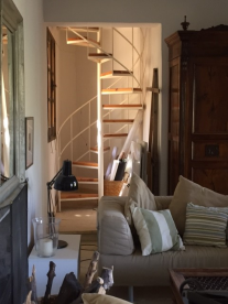 Private stair to bedroom