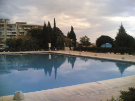 One of the pools