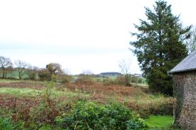 Overlooking fields. Uninterupted view
