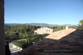 View from second-floor bedroom window