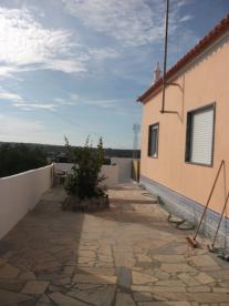East facing terrace