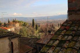 view on Arezzo vally