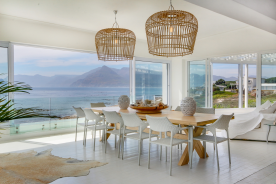 Upstairs Dining Area with views towards Table Mountain