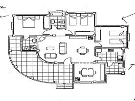 Main floor plan - elevation