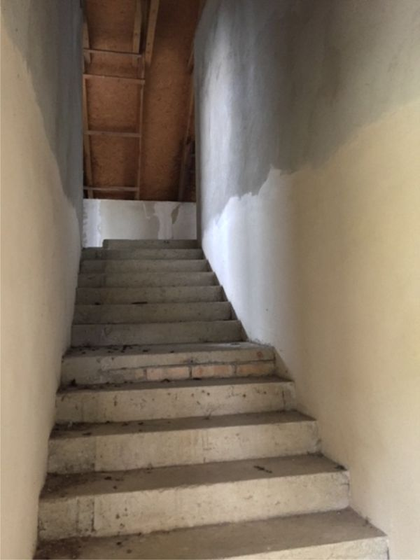 Second house stairs