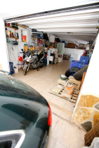 Garage from carport