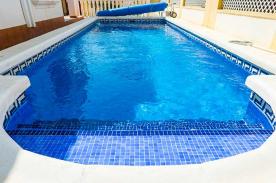 Close up pool