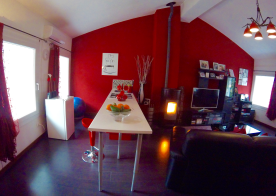 Apartment breakfast bar
