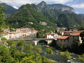 the nearby village of Valstagna