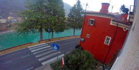 View of River Brenta from Apartment