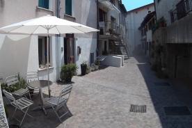 Rear of house patio area