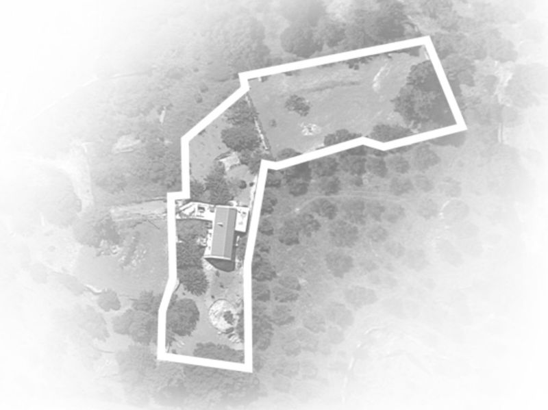 The house and plot from Google maps