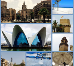 Valencia City only 40 minute drive away.