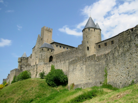 La Cite Medieval, Carcassonne World Heritage site (40 mins drive)