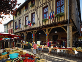 Mirepoix market (25 min drive)
