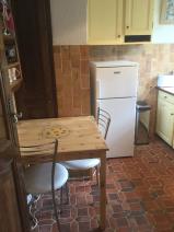 The lower kitchen