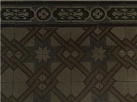 Original floor tiles in most rooms