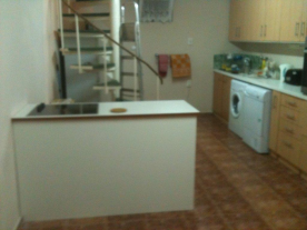 Modern Kitchen/Diner located in lower level