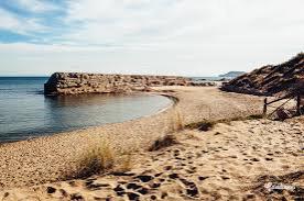 The beach at Sant Martí d´Empires