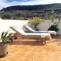 Sun terrace on terrace 2
