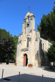 Church in Mauzac village