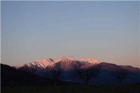 View of Canigou from the house