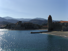 Collioure, a 30 minute drive
