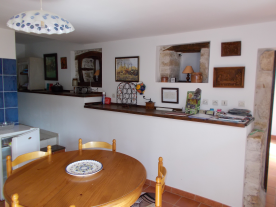 Gite kitchen/dining room