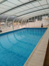 Swimming Pool - 3 metres from front door of the apartment.