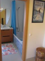 The family bathroom.