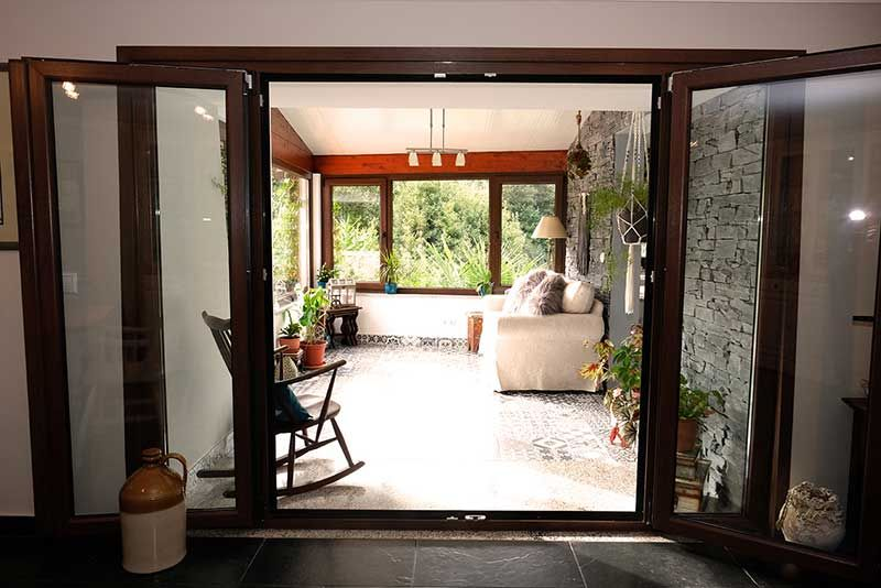 Entrance to Sun Room