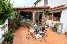 Sun-room terrace