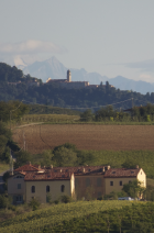 Surrounded by the rolling hills of the Monferrato