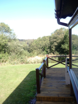 SIDE DECKING (VIEW FROM ENTRANCE)