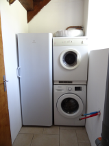 Utility room. Piped for sink if required. All white goods included in price.