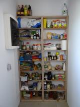 Utility room food storage