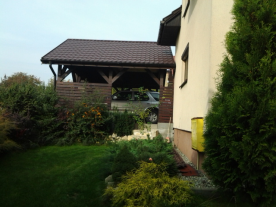 Side Right - Showing 2-car garage Cover