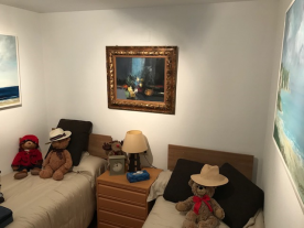 2nd Bedroom Brand new beds