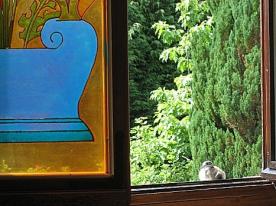 visitors of the Villa d'Azur