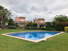 Shared pool by four owners