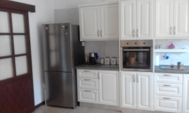 Kitchen with Large Fridge/ Freezer