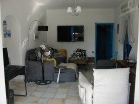 Lounge with access to 3no. bedrooms and bathroom.