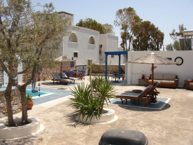Outdoor facilities for guests.