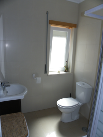 Downstairs wc and shower room