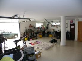 Large basement garage