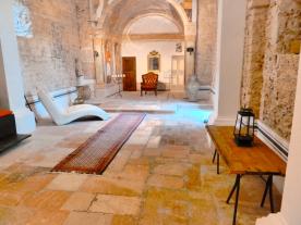 Church interior yoga studio