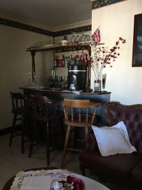 Main house: Bar area
