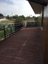 Guest house: Decking area