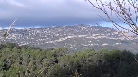 Mountain Alaric opposite the plot